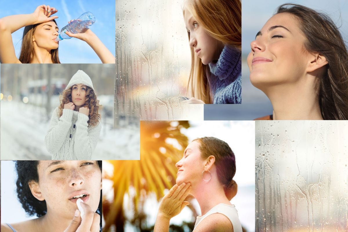 how weather affects skin