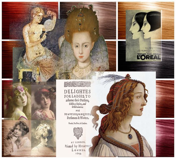 history of hair dyes