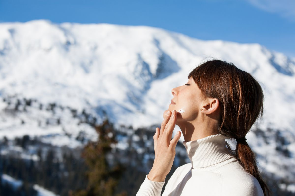 why you need sunscreen in winter